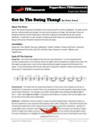 Get-In The Swing Thang (FUNdamentals) 4 Horn Trumpet II