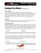Gettin In Da Blues (FUNdamentals) 4 Horn Alto