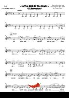 In The Still Of The Night (Five Satins) 4 Horn Alto