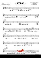Stay (Maurice Williams) 4 Horn Bari