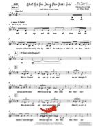 What Are You Doing New Years Eve (Ella Fitzgerald) 4 Horn Alto