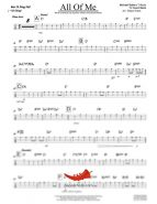 All Of Me (Michael Buble) Bass Tab