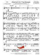 Blame It On The Boogie (Jackson 5) 4 Horn Alto