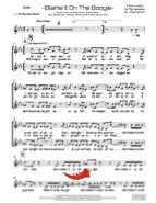 Blame It On The Boogie (Jackson 5) 4 Horn Bari