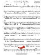 Boogie Woogie Bugle Boy (Andrews Sisters) 6 Horn