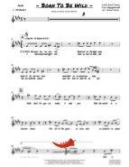 Born To Be Wild (Steppenwolf) 4 Horn Trumpet II