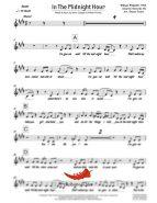 In The Midnight Hour (Wilson Pickett) 4 Horn Trumpet II