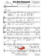 It's Not Unusual (Tom Jones) 4 Horn Alto