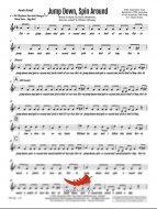 Jump Down Spin Around (PepperHorn Standards) 4 Horn Bari